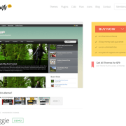 Themify: Bloggie WordPress Theme