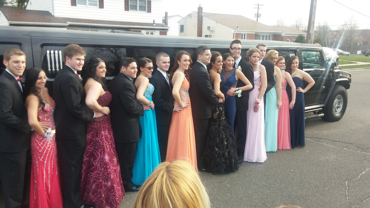 Limo Prom Prom Limo Limo For Prom Long Island Prom Party Bus
