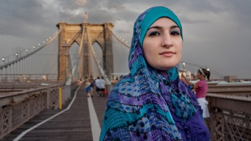 9/11 G2 SPECIAL, Linda Sarsour, Shot on the Brooklyn Bridge, 13t