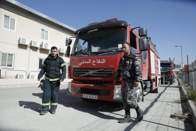 palestinian-firefighters