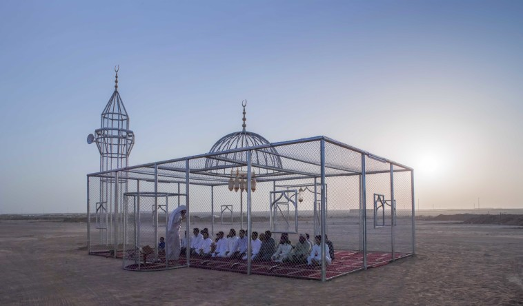 This outstanding mosque is completely transparent and the idea behind it will make you think