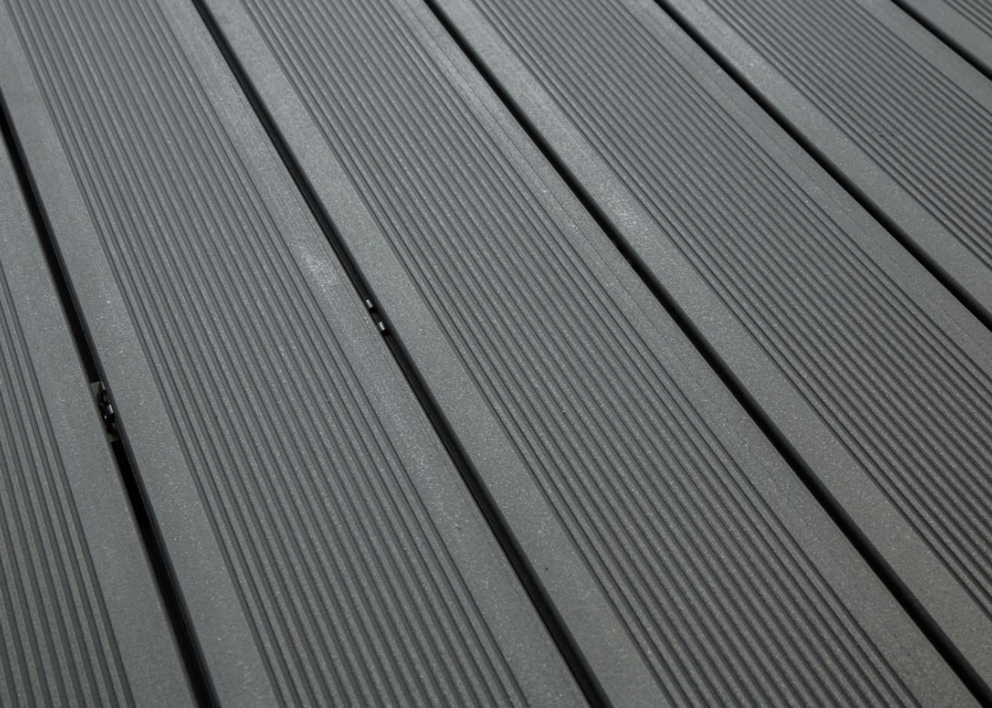 Lame Terrasse Composite Gris Anthracite Bois Composite Teinte Gris Anthracite Antidérapant
