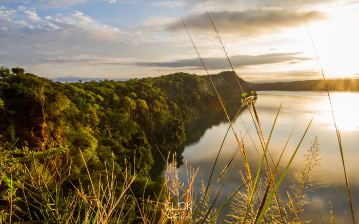 African Screens 36 – Lake Chala Sunrise