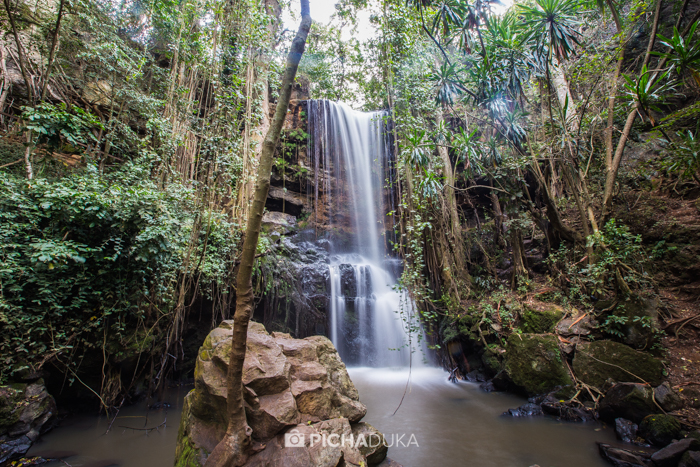 Paradise Lost Waterfall on 1st August 2016.