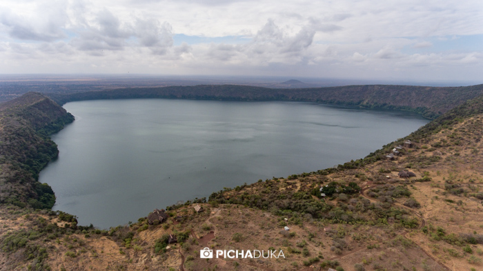 Lake Chala on 22nd August 2017.