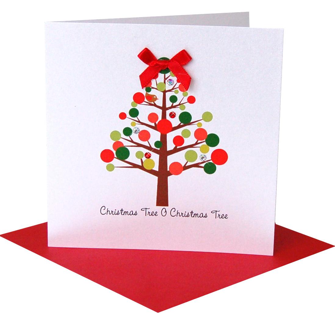 X Christmas Tree O Red