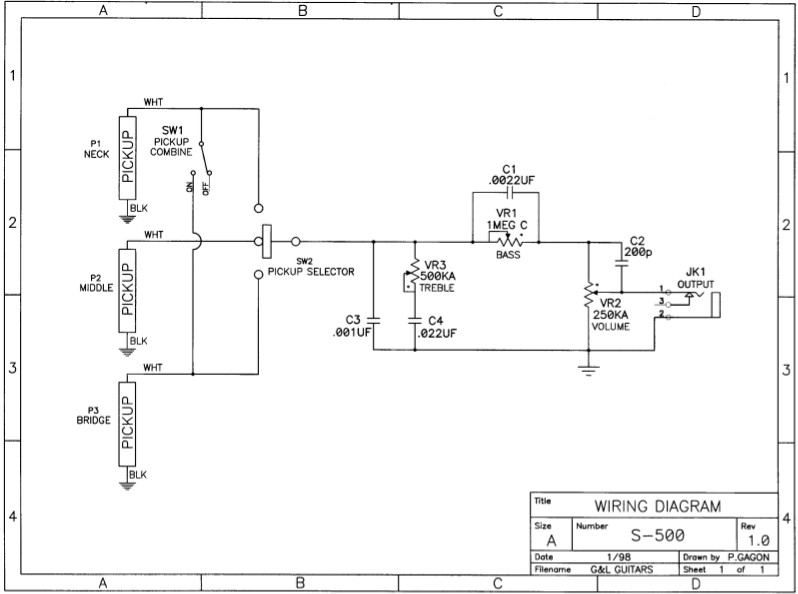 gl guitar wiring schematic