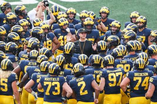 Michigan Wolverine Football Depth Chart 2018