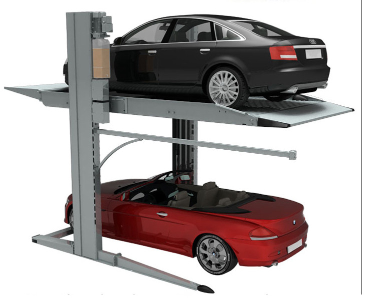 Double Parking Car Lift 2 Level Parking Lift For Home