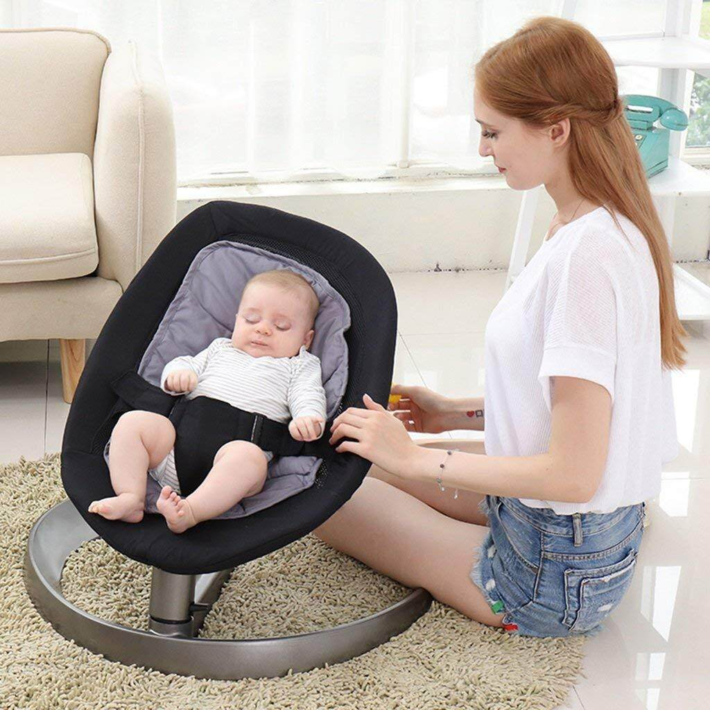 Baby Sleep In Bouncer Or Swing Realeos Baby Cradle Bouncer Rocking Chair Balance Swing Sleep R825