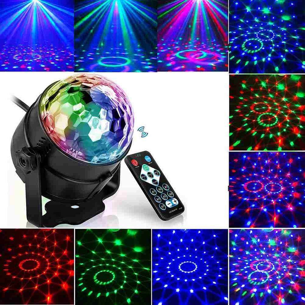 Led Disco Beleuchtung Betes Rgb Stage Lighting Effect Lamp Light Dj Disco Ball Lumiere 3w Sound Activated Laser Projector 7 Colors