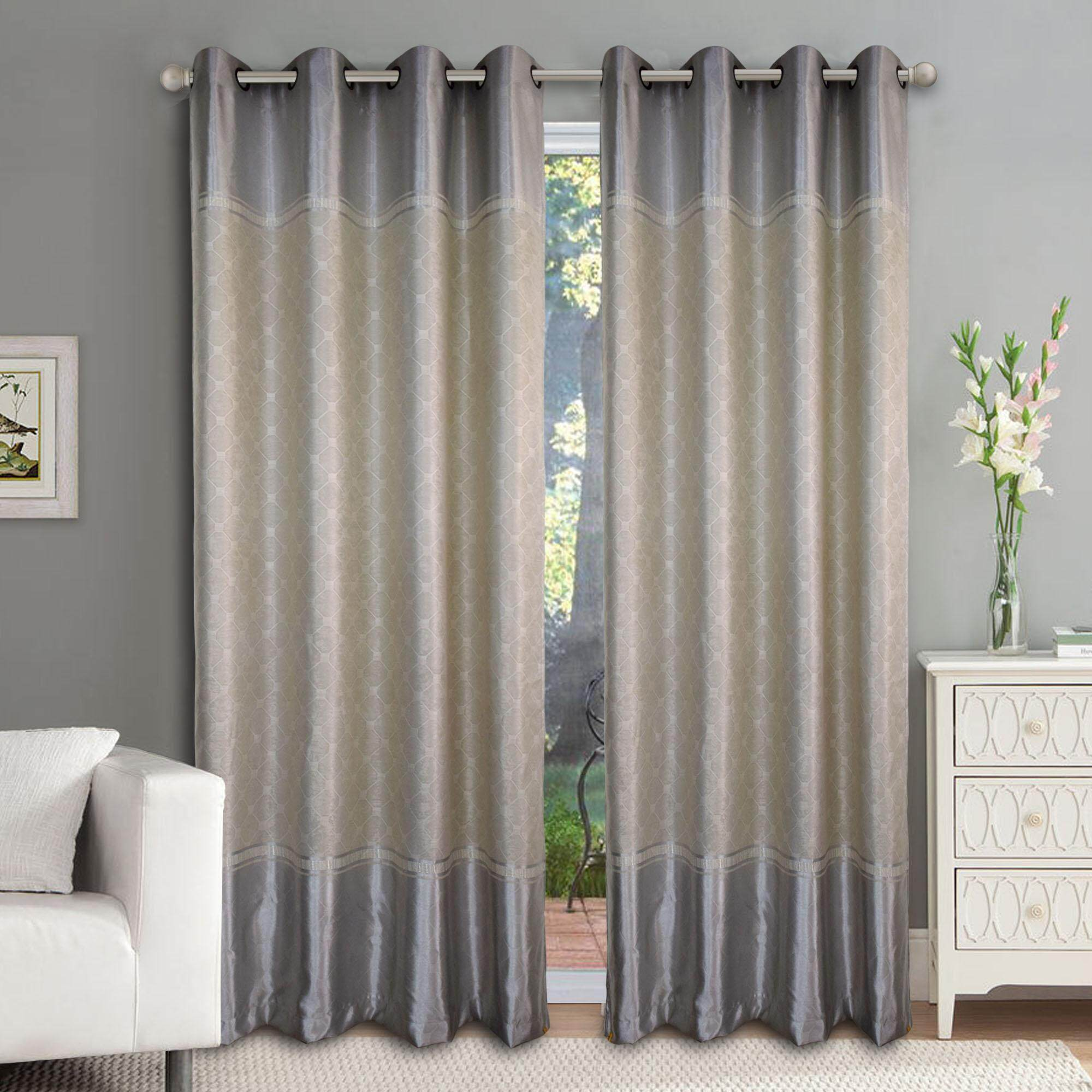 Sliding Door Curtain 1 Piece Essina Eyelet Curtain Premium Blackout 200cm X 260cm Moselle Fit Window Sliding Door 1 Panel Up To 180cm Width