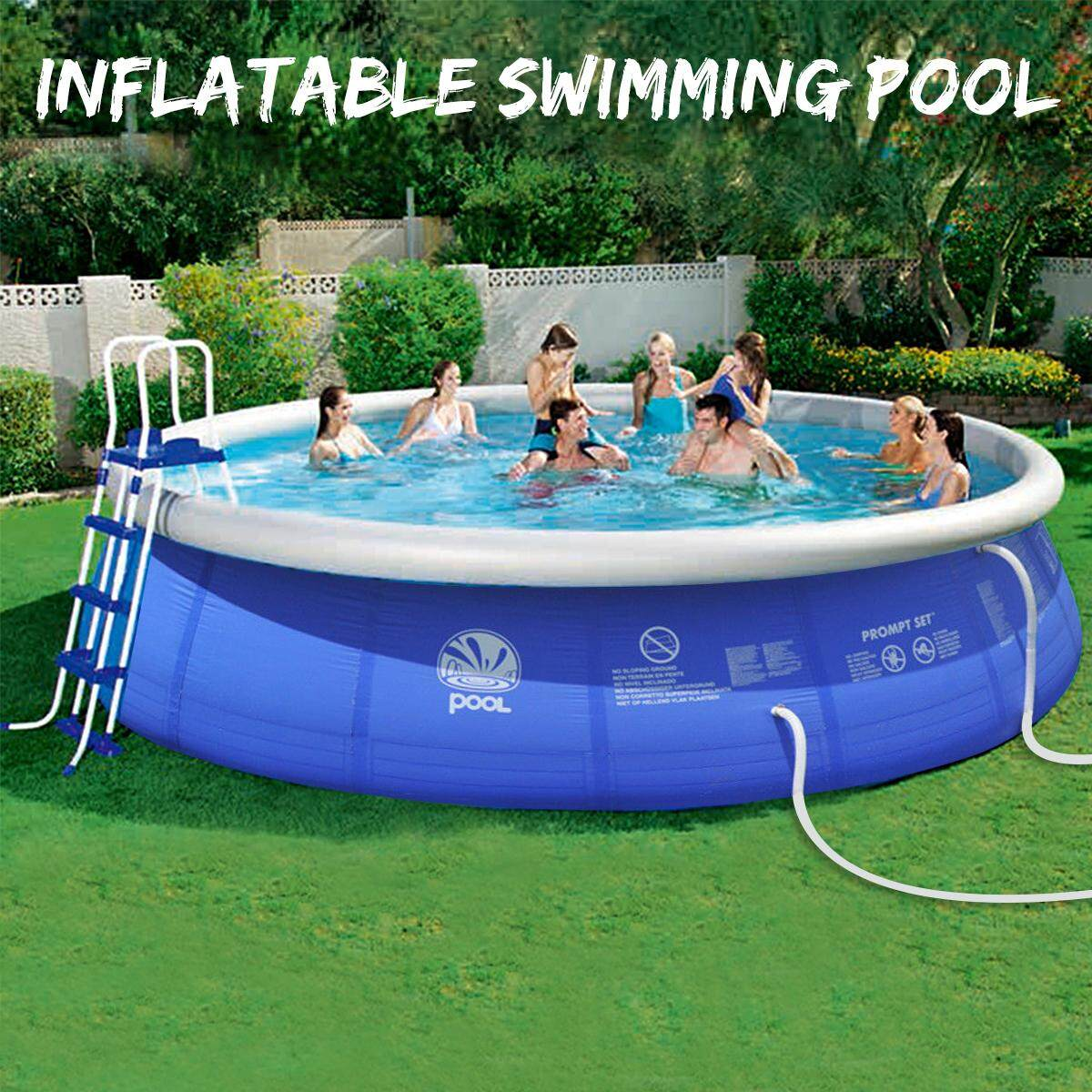Bestway Frame Pool Untergrund Summer Outdoor Inflatable Swimming Pool Garden Family Pools Parent Child Paddling Pool Portable Big Capacity Children S Inflatable Pool