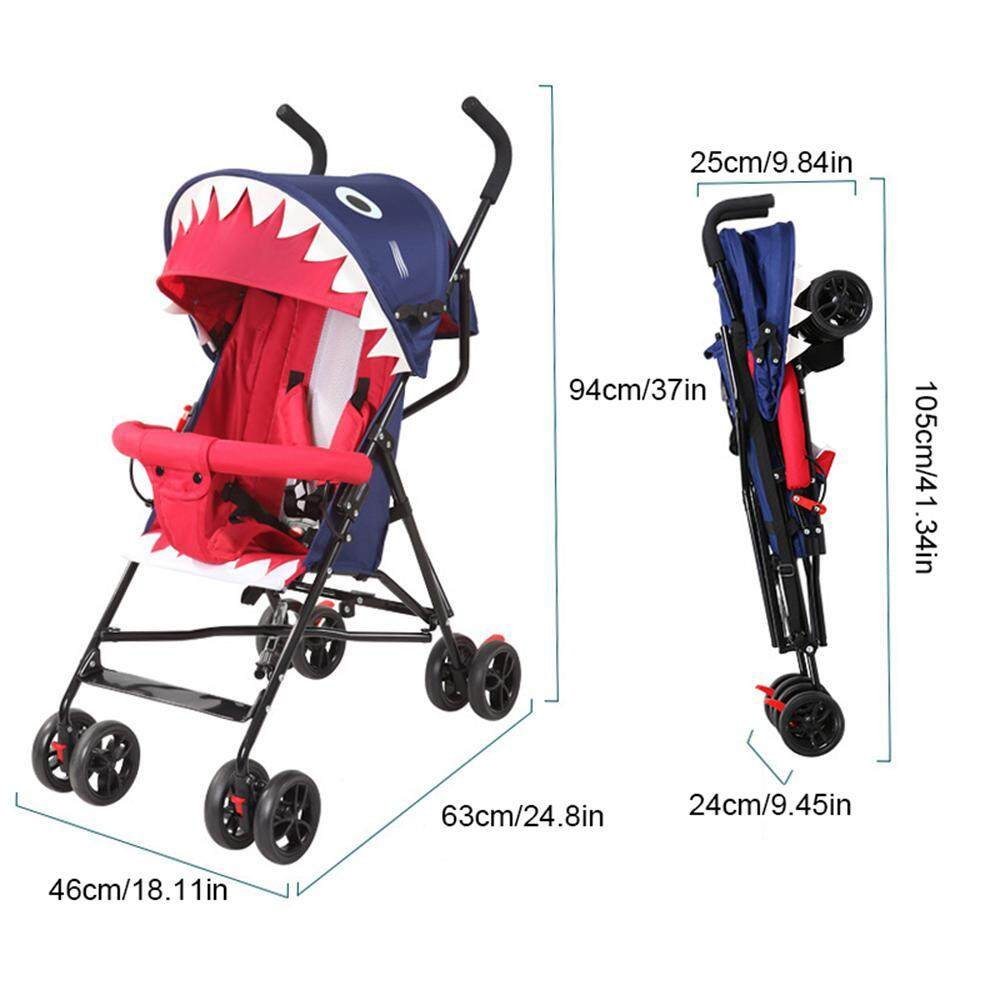 Baby Pram Umbrella Onlook Adjustment Stroller Summer Ultra Light Umbrella Folding Simple Baby Car As Comforting Comfort In The Mother S Arms