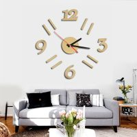 Multi-Color Round Wood Wall Clock Office Home Living Room ...