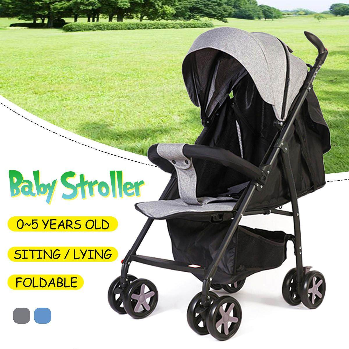 Lightweight Folding Pram Foldable Lightweight Baby Stroller Pram Kids Pushchair Travel Carry On Plane Singapore