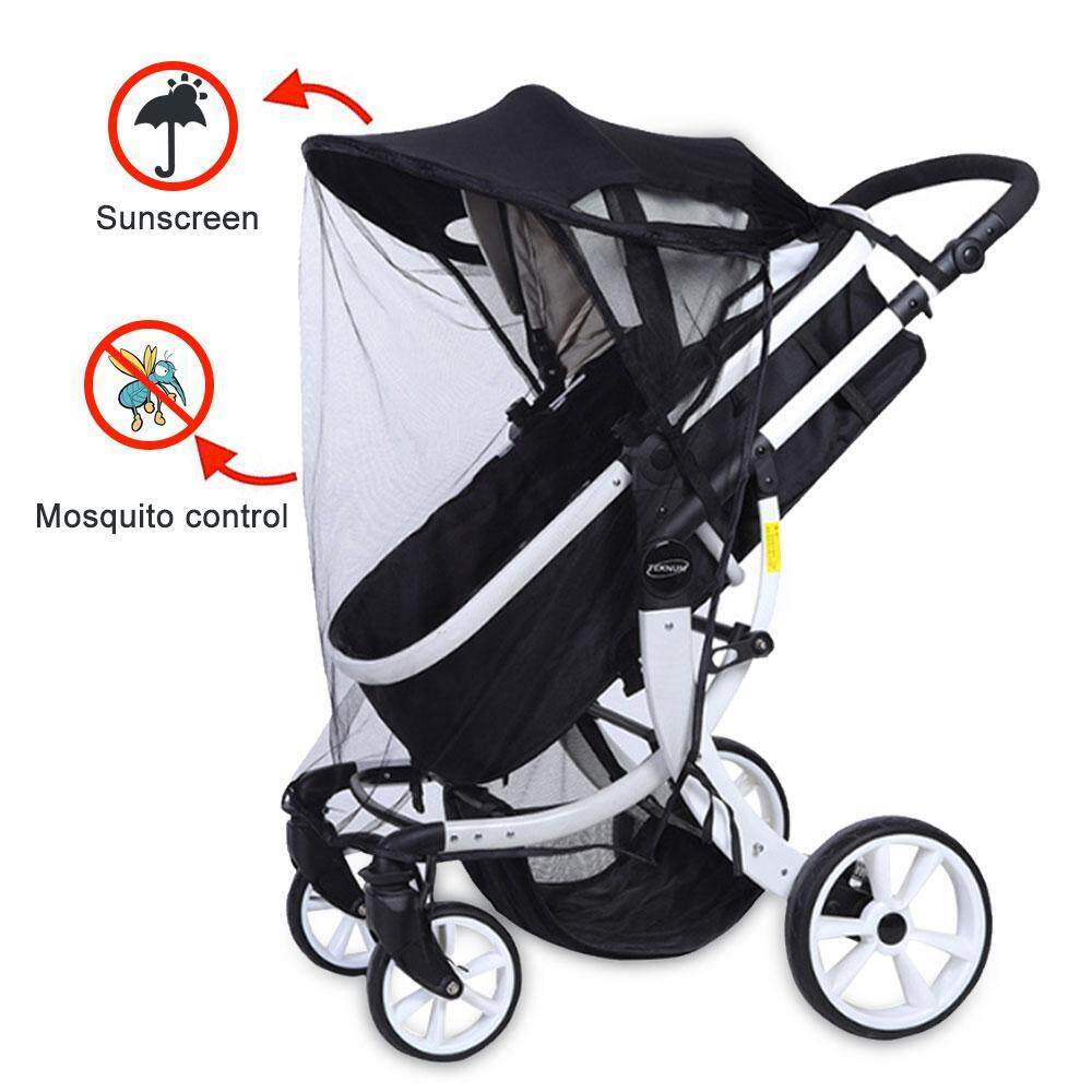Stroller Mesh Cover Solicitude Rain Cover For Stroller Prevent Mosquito Universal Baby Travel Stroller Rain Cover Waterproof Windproof Protection Outdoor Use With