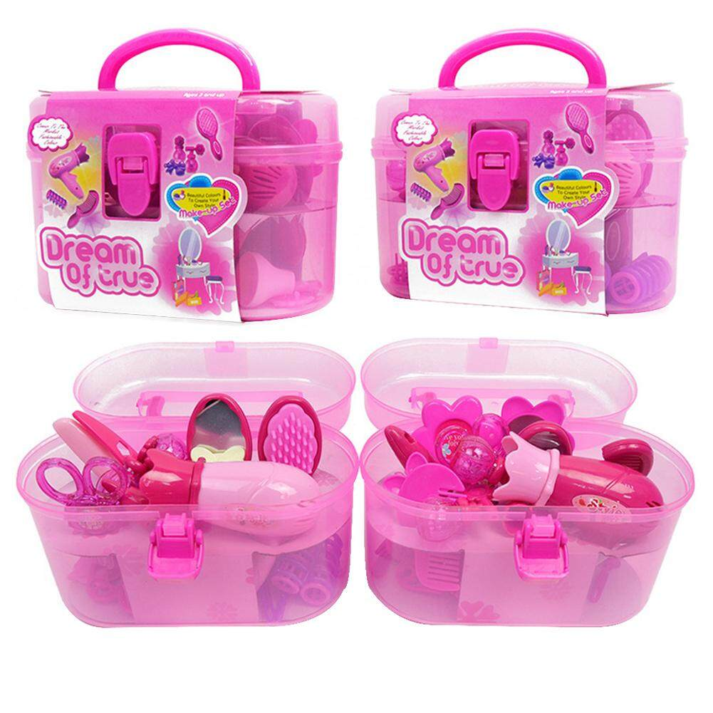 Meja Rias Anak Perempuan Ryt Fashionable Girl Accessories Children S Play Toys Simulation Hairdryer Beauty Salon Dressing Set