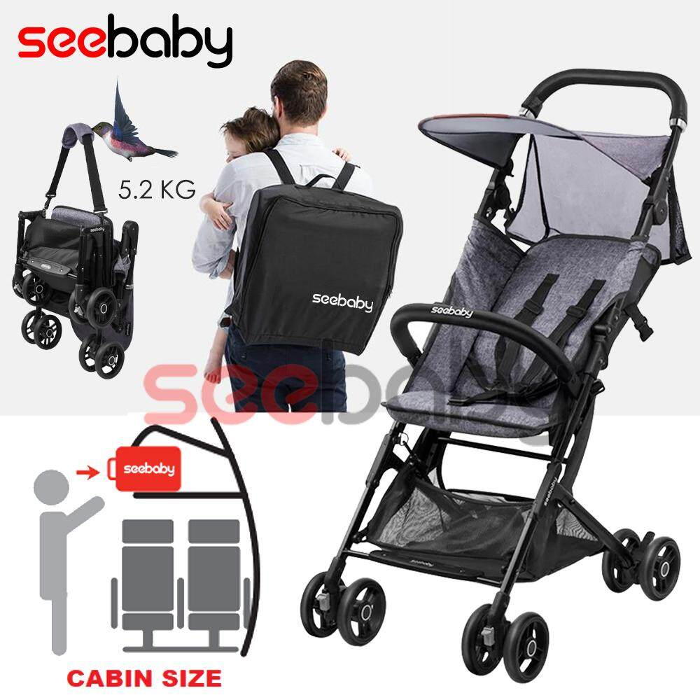 Carriage Type Strollers Raya 2019 100 Authentic Seebaby A2 Backpack Type