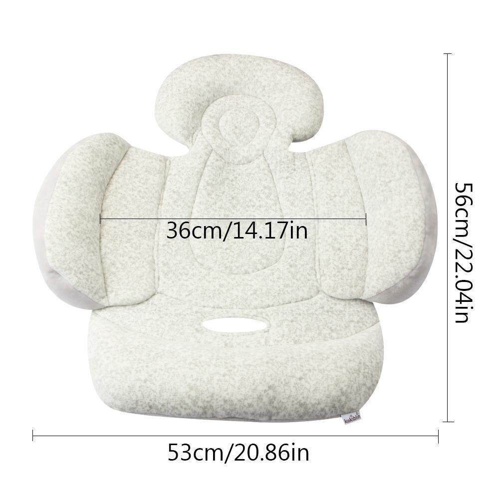 Newborn In Pram Seat Orzbuy Car Seat Insert For Infant Soft Baby Stroller Liner Pram Head And Body Support Pillow Washable Baby Car Seat Padding Carseat Head Support