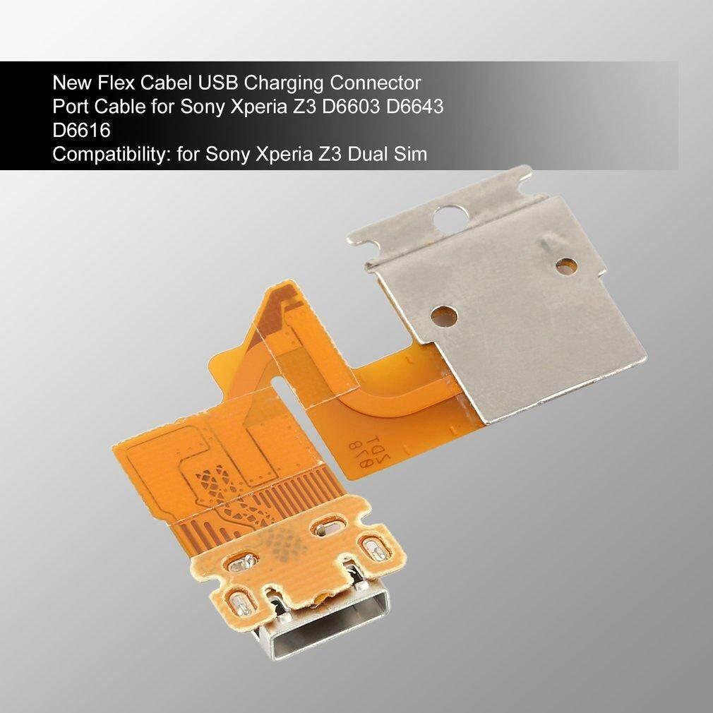 Usbsdsimpenutup Slot Kartu Penutup Port Untuk Sony Xperia Z C6603 Usb Charger 1set Z1 C6903 Docomo Global Original Mini Pernik New Flex Cabel Charging Connector Cable For Tablet