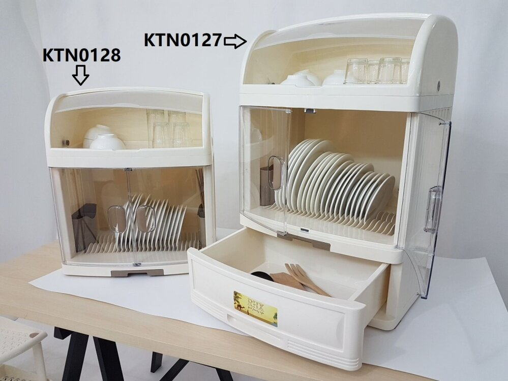 High Quality Plastic Dish Cabinet Kitchen Rack With Cover