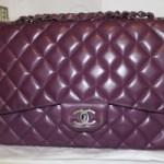 Chanel Handbag #6 – Purple Lambskin