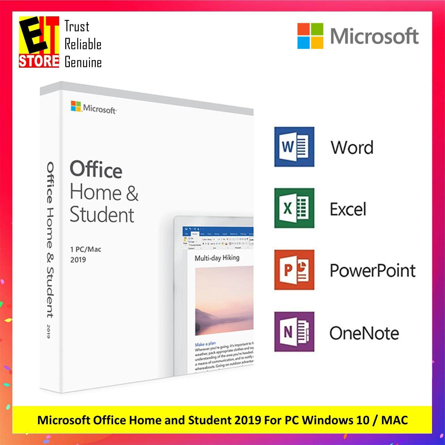 Update My Microsoft Office Microsoft Office Home And Student 2019 1 Pc For Windows 10 Only Mac
