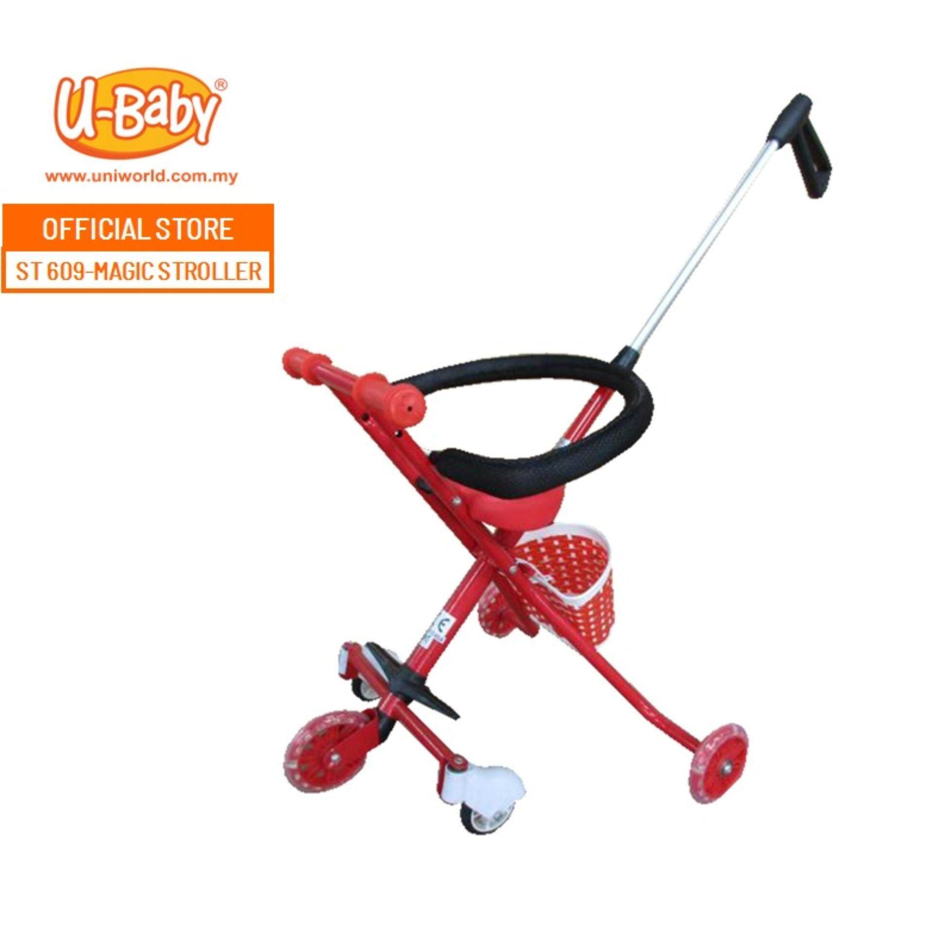 Mima Xari Stroller Harga U Baby 5 Wheels Magic Stroller St 609 Red