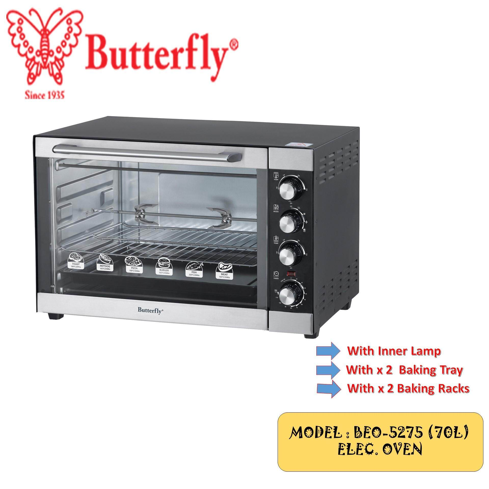 Gambar Oven Gas Butterfly Electric Oven 70l Beo 5275