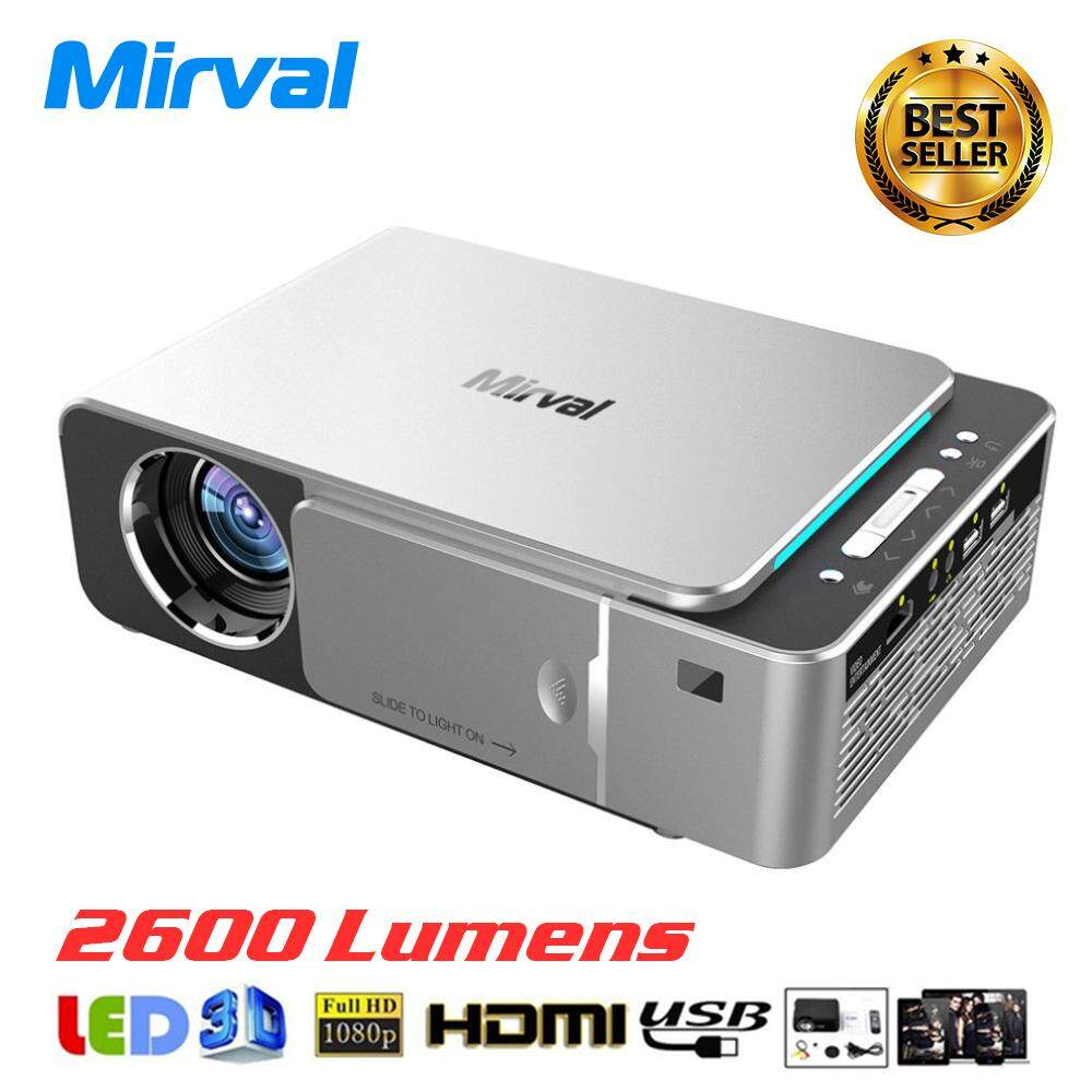 Samsung Beamer Mirval Y6 Hd Led Projector 2600 Lumens Portable Hdmi Usb Support 4k 1080p Home Theater Cinema Proyector Beamer