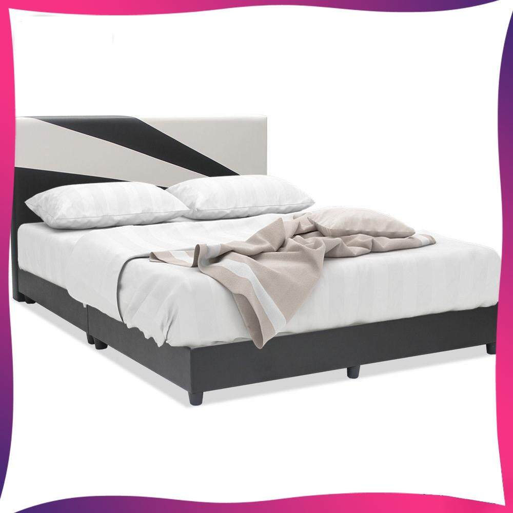 Divan Beds Cheap Solid Leather Queen Divan Bed Queen Size Bedframe Bedroom Bed Sleep Bed Nap Bed Katil Divan Katil Tidur L2000mm X W1540mm X H960mm