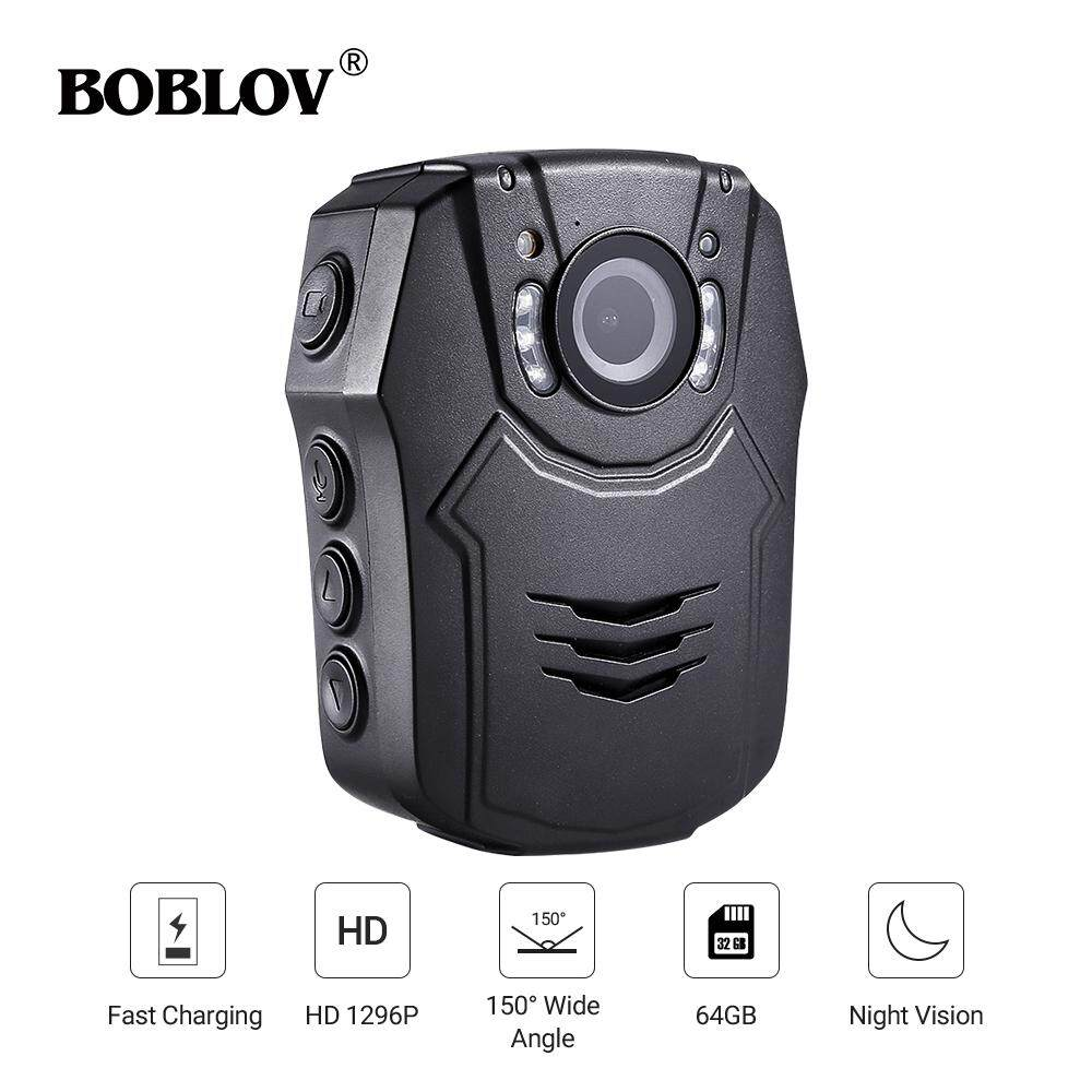 Camera Ip Exterieur Onvif Boblov Body Worn Cam 1296p Portable Body Mounted Camera 150 Degree Angle Support Smart 1hour Fast Charging And 7hours