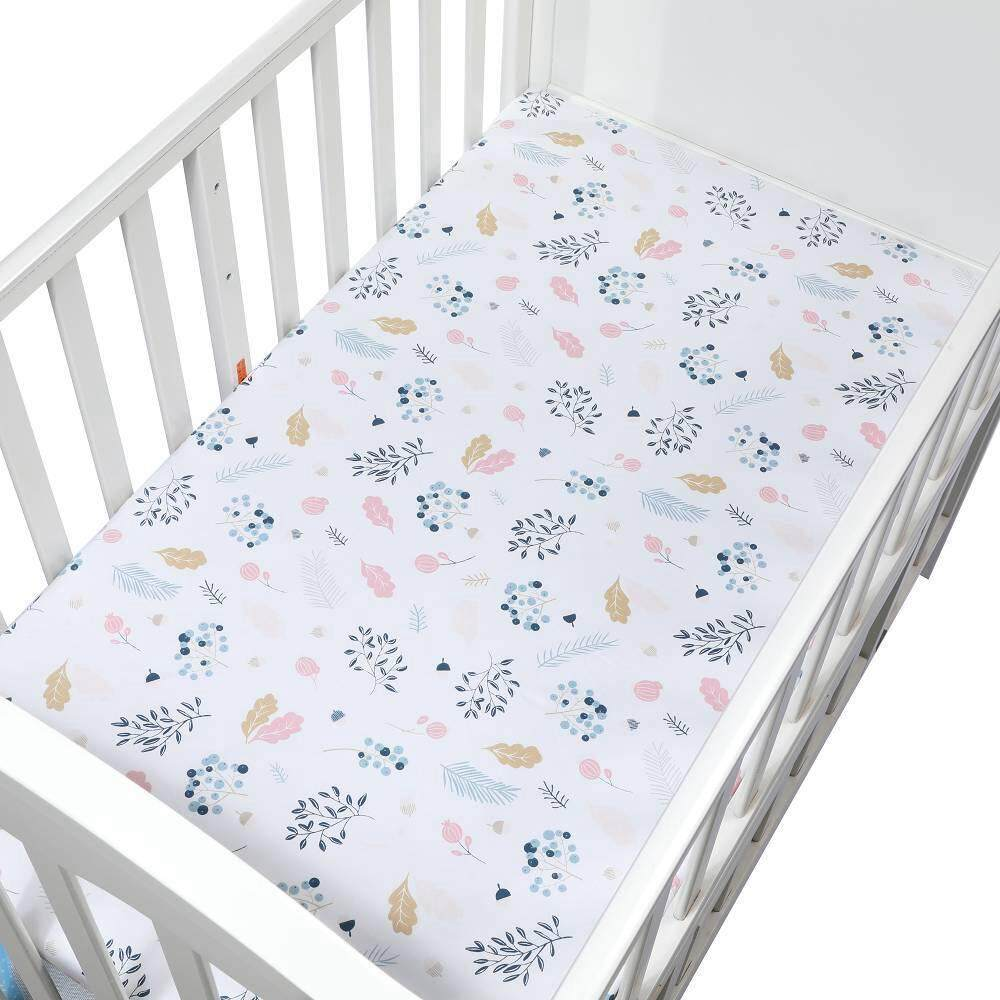 Toddler Mattress Vs Baby Mattress Vayu Premium Fitted Cotton Crib Sheet Girls Boys Print Cotton Toddler Sheet For Baby Fits Standard Crib Mattresses Or Toddler Beds Mattresses