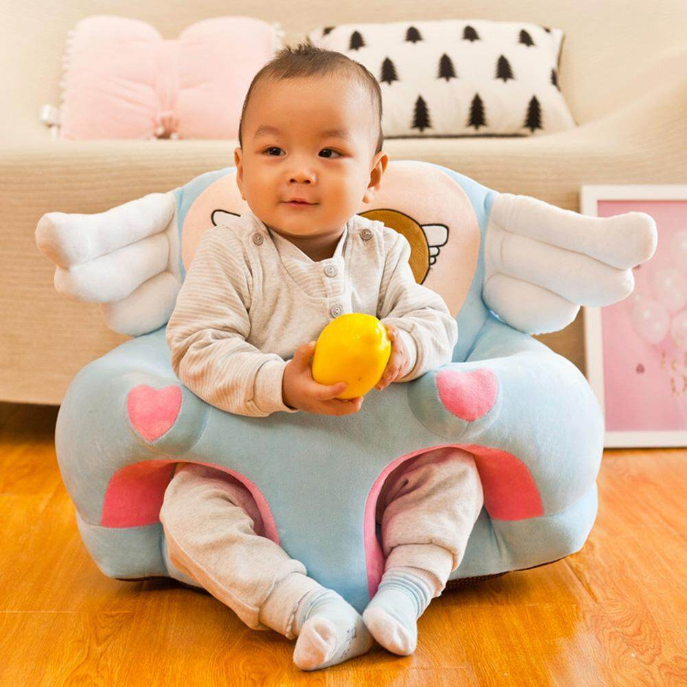 Infant Learning Chair Milochics No Cotton Anti Fall Cartoon Angel Wing Colorful Infant Baby Sofa Cover Seat Feeding Chair Case Learn To Sit Chair Cover
