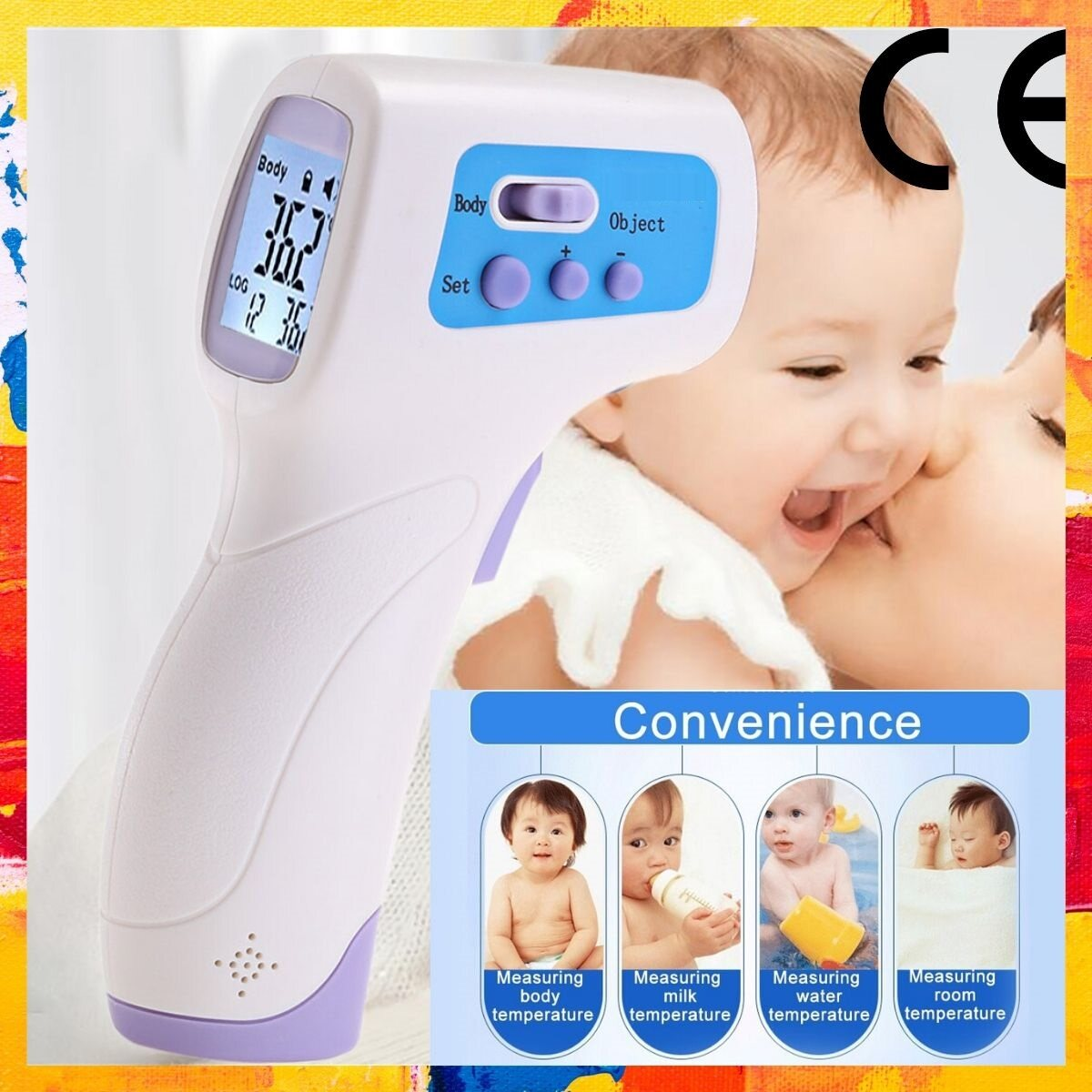 Küchen Thermometer Test Elektronik & Messtechnik Handheld Infrared Thermometer Gun Non-contact Temperature Measurement Dm300 Business & Industrie Aacs.in