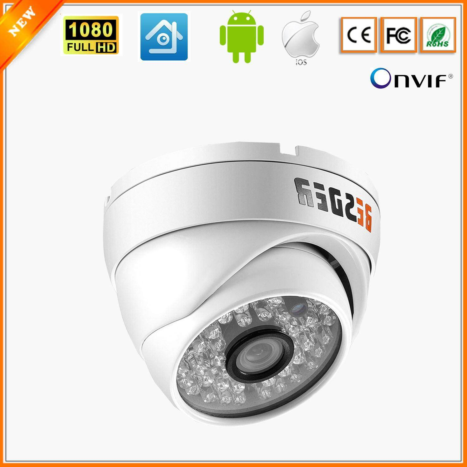Camera De Surveillance Exterieur Auto Tracking Besder Ip Camera 1 2 0megapixel Night Vision Wide Angle 2 8mm Cctv Vandal Proof Dome Waterproof 48 Pcs Ir Led Indoor Outdoor Network Ip Camera Ir