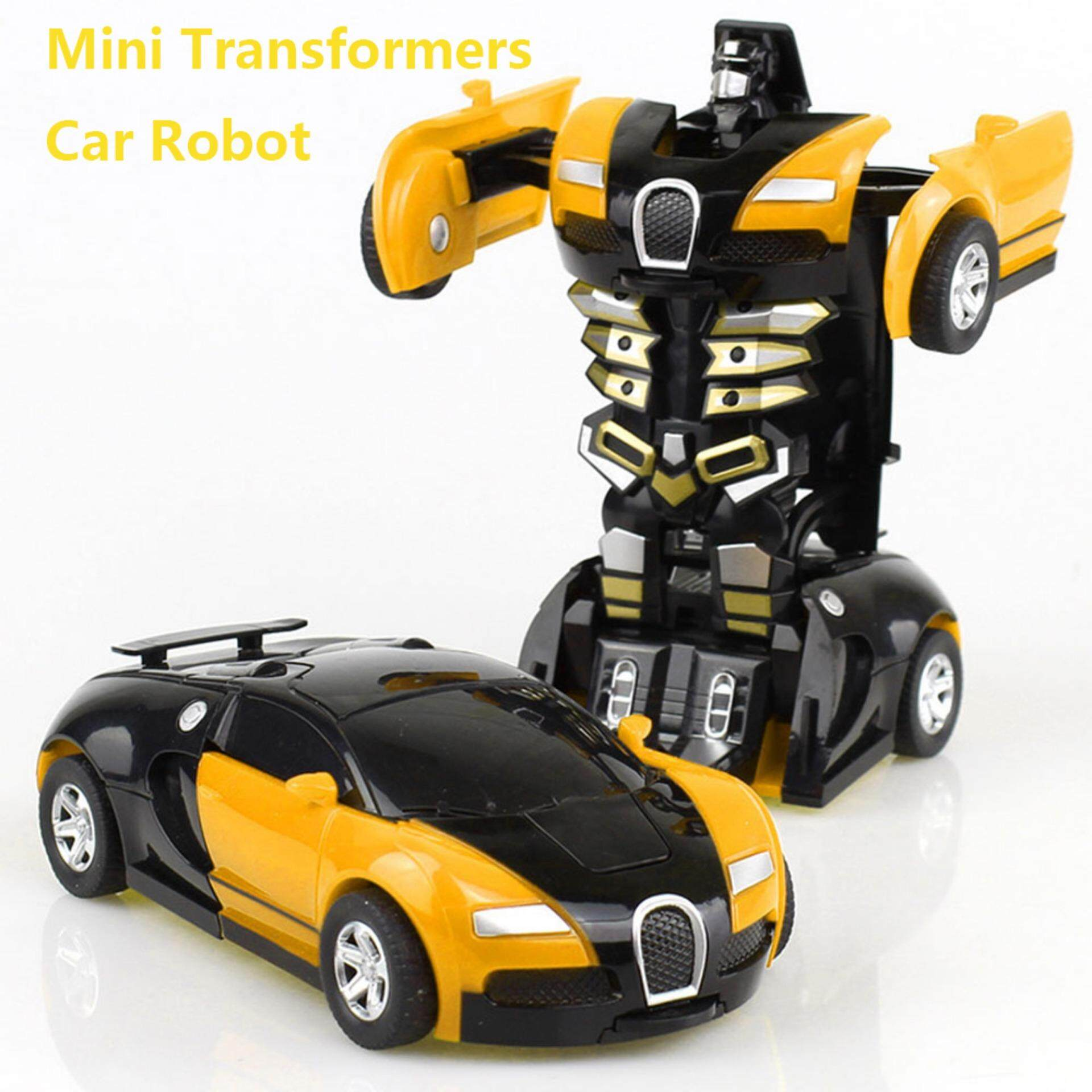 Gambar Toko Kecil Kobwa Transformers Car Rescue Bots Deformation Transformer Car One Step Car Robot Vehicle Model Action Figures Toy Transform Car For Kids