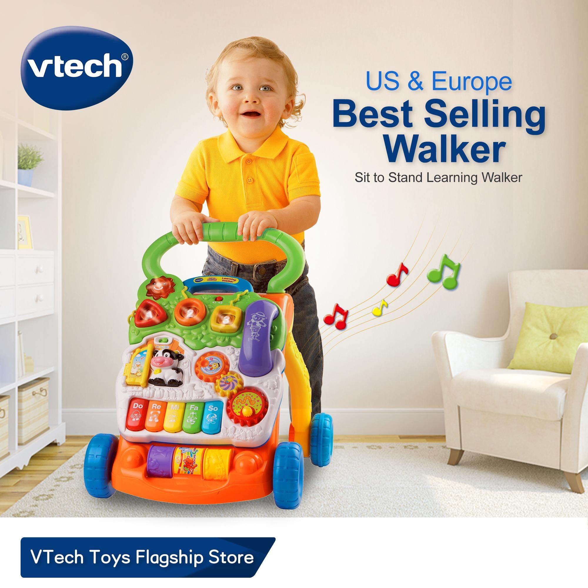 Infant Learning Chair Vtech Baby Walkerus Europe 1with Speed Control Music Educational Learning Sit To Stand Learning Walker Push Walker For Baby Infant Toys Toys