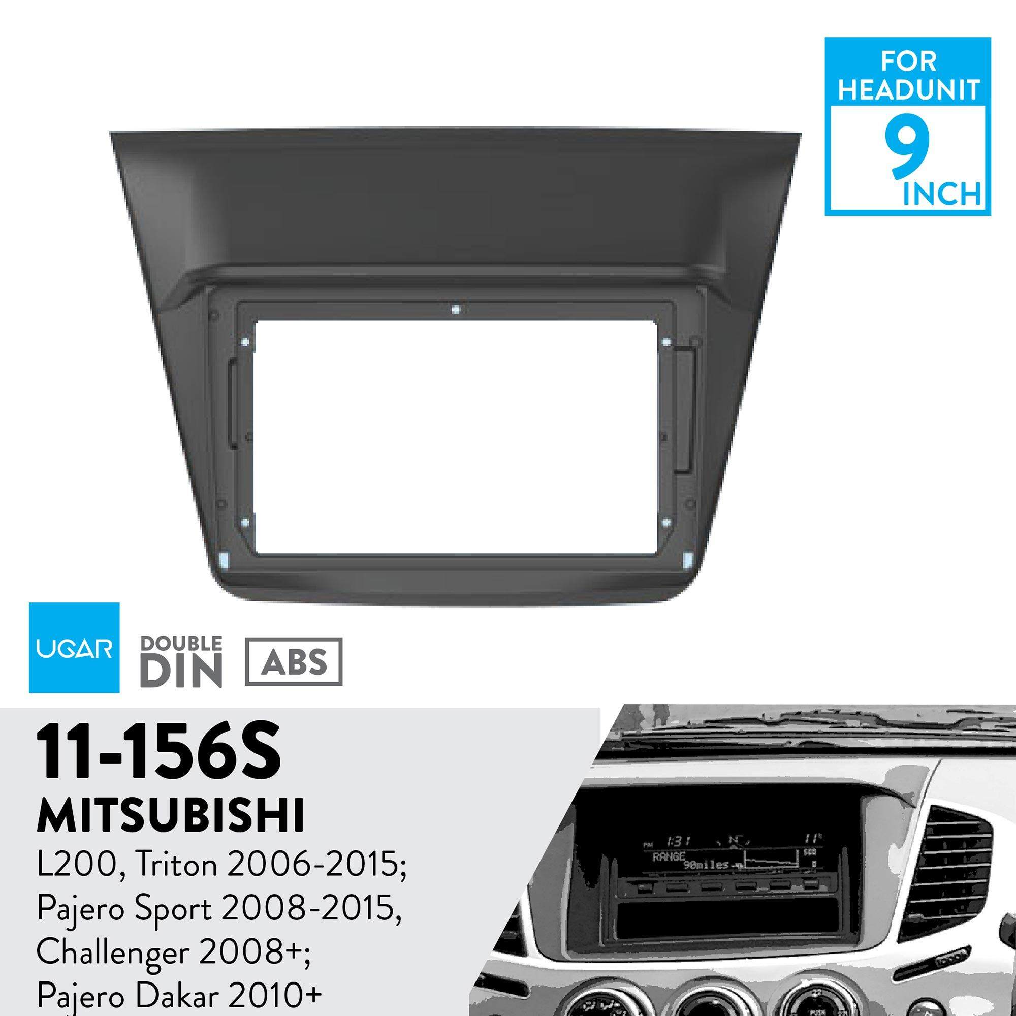 Toddler Car Dashboard Ugar 11 156s Trim Fascia Car Radio Installation Mounting Kit For Mitsubishi L 200 Triton 2006 2015 Pajero Sport 2008 2015 Challenger 2008 Pajero
