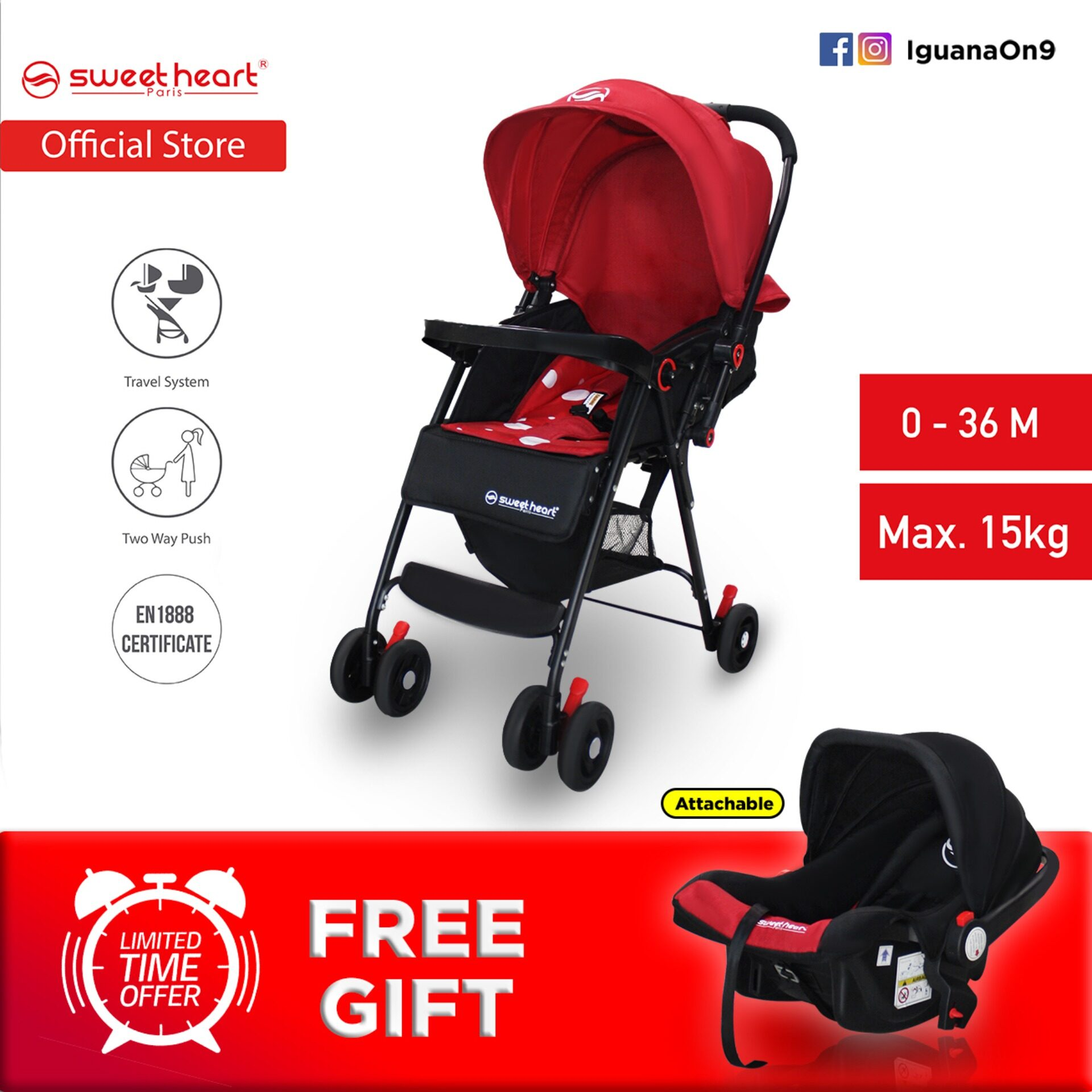 Young Versace Baby White Stroller And Travel Set Sweet Heart Paris 2 In 1 St88t Travel System Stroller 2019 Upgraded Version With Two Way Push Parent Facing One Hand Folding Free Car Seat Carrier