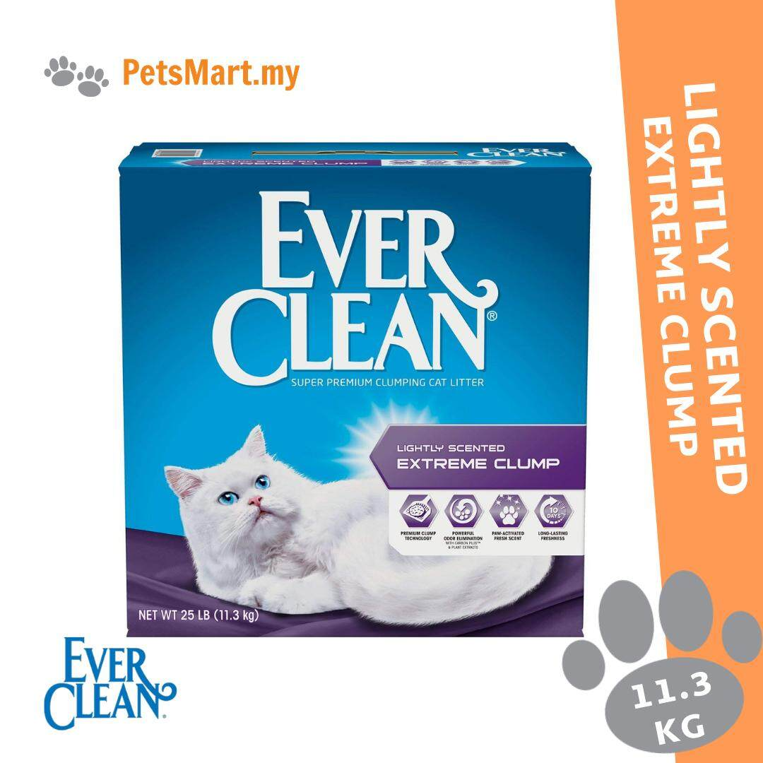 Harga Cat 20 Kg Ever Clean Lightly Scented Extreme Clump Cat Litter 11 3kg