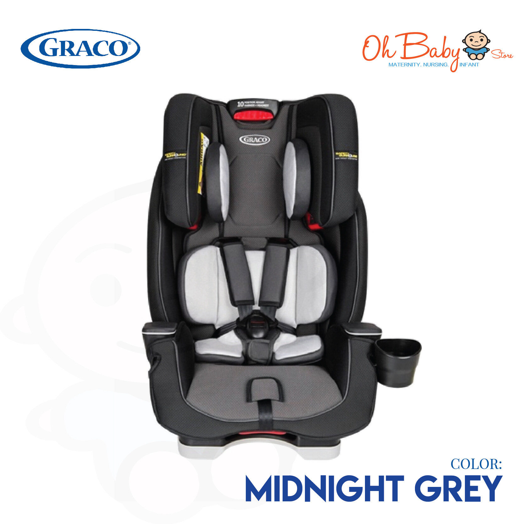 Graco Milestone Car Seat Isofix Graco Milestone Lx All In One Convertible Car Seat