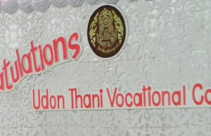 graduation at udon thani vocational college
