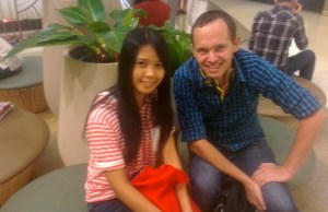 ex-teacher with amazing ex-student in udon thani