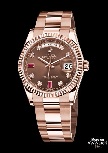 Raymond Weil Watch Watch Rolex Day-date Or Everose | Oyster Perpetual 118235