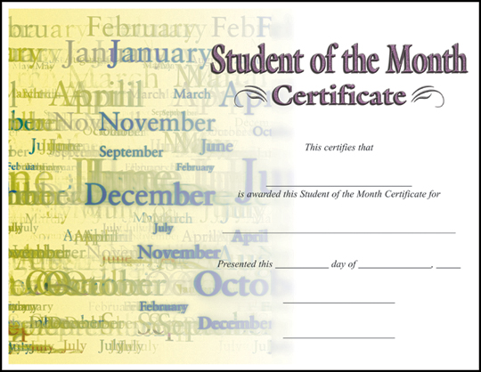 Rising Stars Online Catalog - Certificates - student council certificates