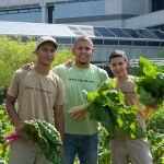 PHOTO: Fernando Orozco with some of his Windy City Harvest crew.