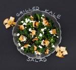 PHOTO: Grilled kale salad.