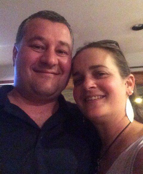 PHOTO: Heather Sherwood and husband Tommy.